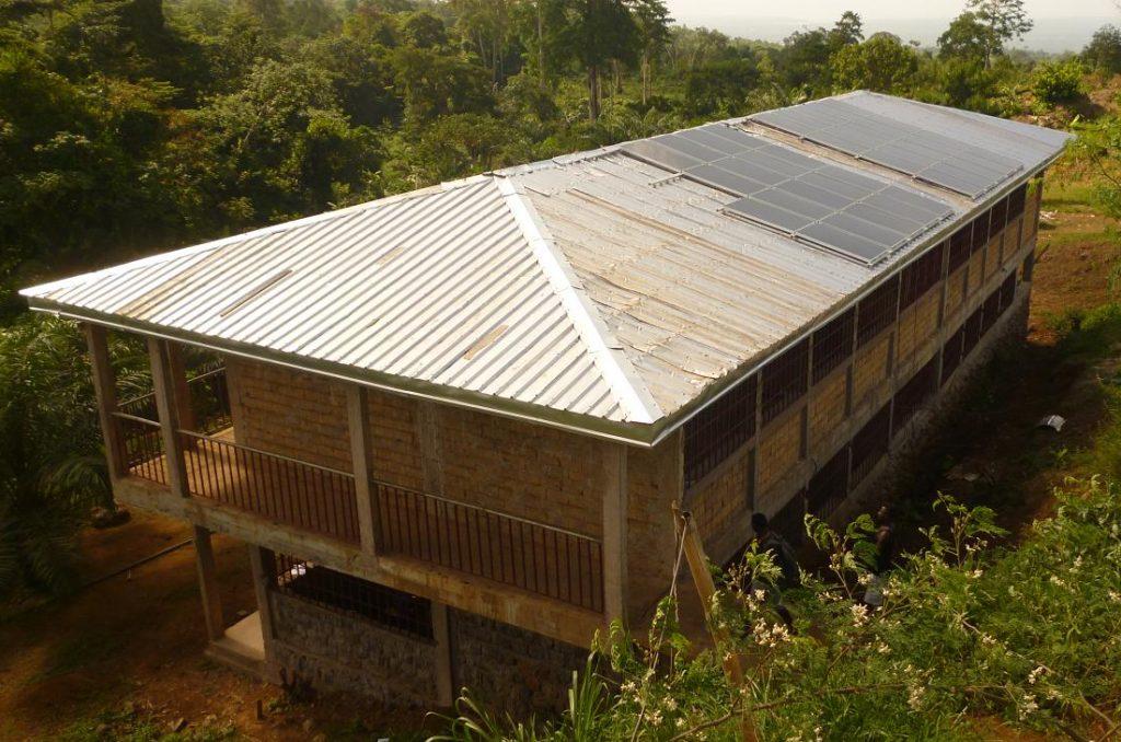 Installation einer Solaranlage bei HOTPEC