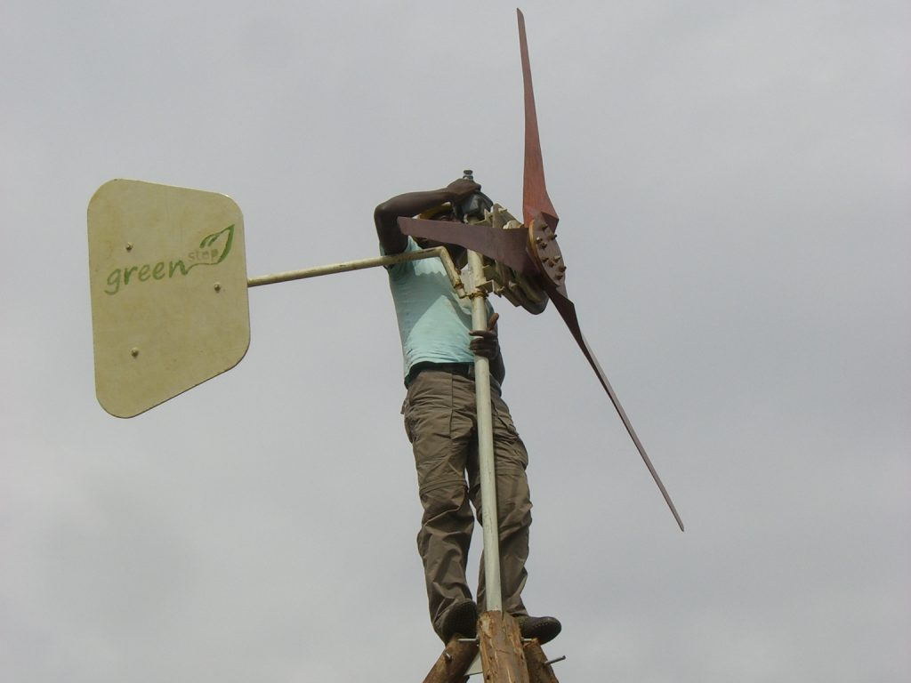 Windkraft-Kleinunternehmer für Afrika
