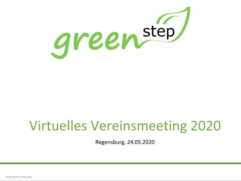 Read more about the article Virtuelles Vereinsmeeting